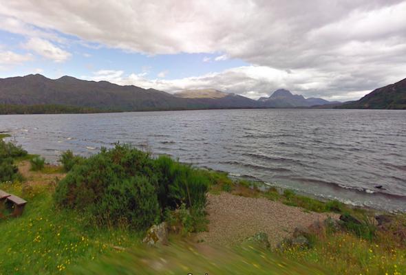 Loch Maree Picnic SIte