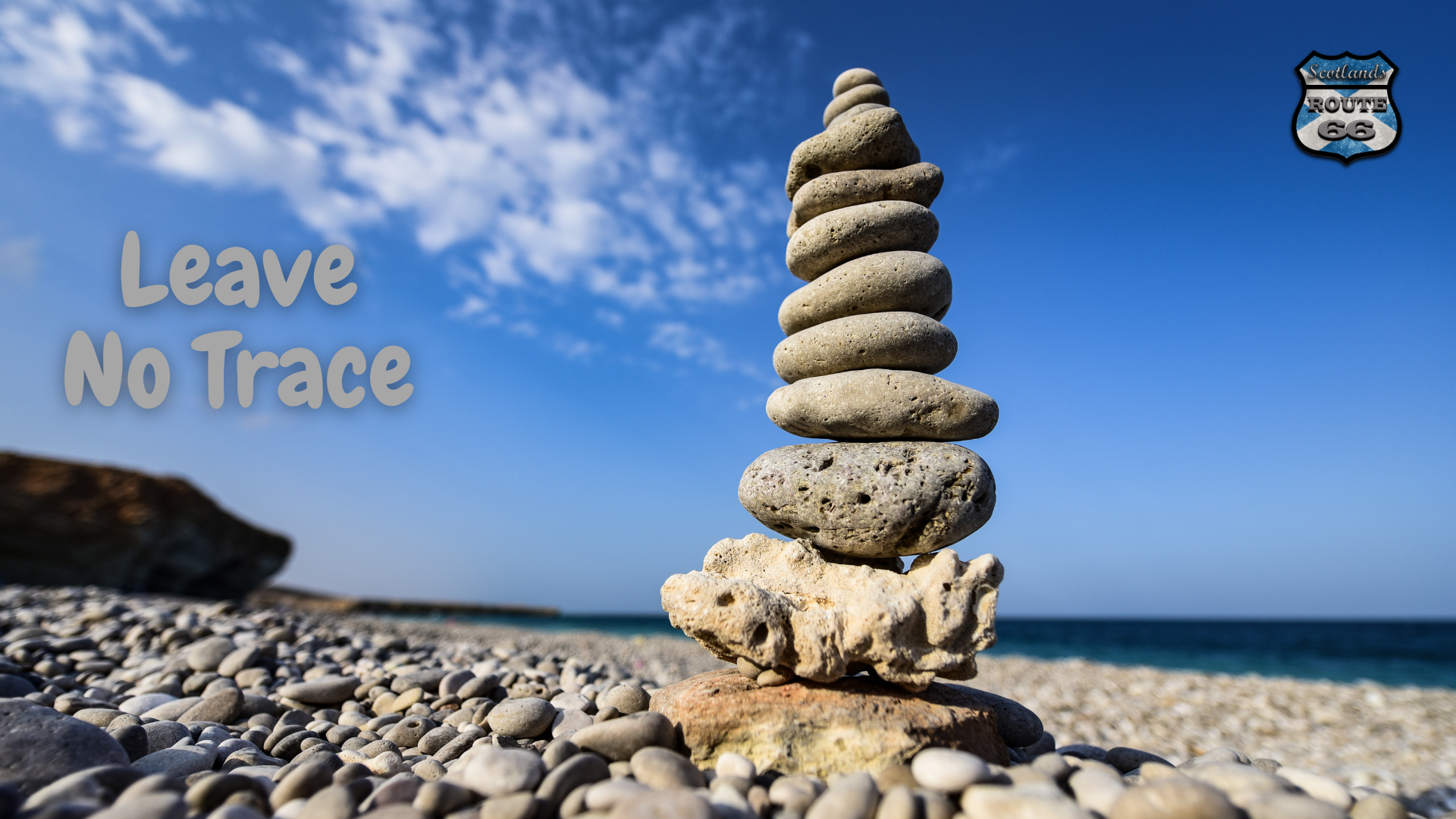 Leave No Trace Stone Stacking